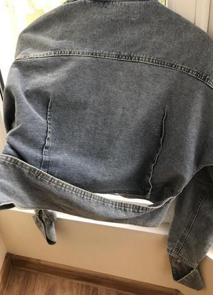 Нова стильна джинсова куртка🔥🔥🔥🔥🔥🔥2 фото
