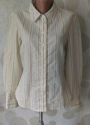 Красивая рубашка  из вышитой ткани     laura ashley
