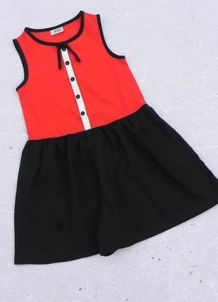 Платье с шортами ромпер комбинезон 7лет 122см next