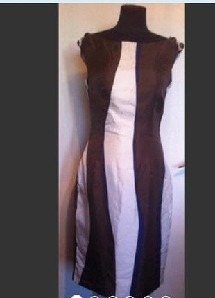 Платье zara, 100/ шелк