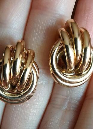 Серьги в стиле zara зара золото винтаж сережки