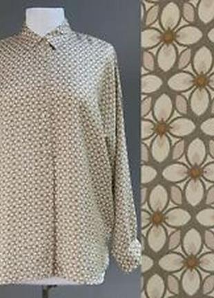 0039 italy шелковая блузка