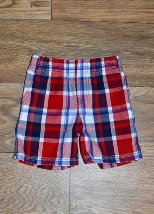 Хлопковые шорты для мальчика 1 год