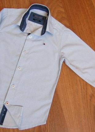 Моднячая рубаха на 5-6 лет tommy hilfiger