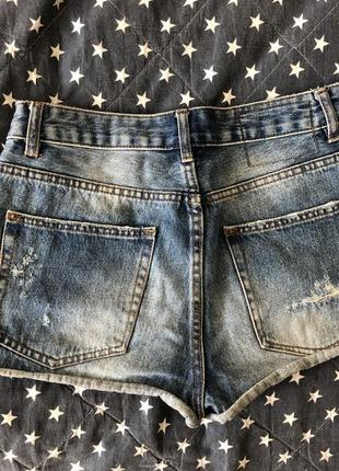 Джинсовые шорты pull & bear