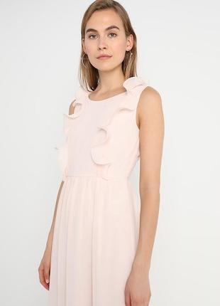 Праздничное длинное платье vila clothes