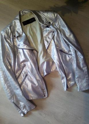 Косуха серебро от бренда zara