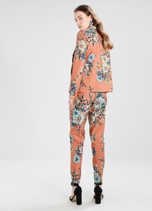 Супер стильный пиджак жакет в цветочный принт vila clothes3 фото