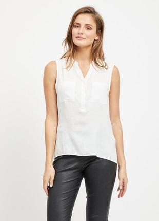 Летняя легкая блуза без рукавов vila clothes