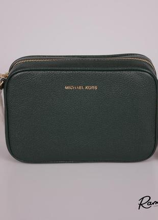 Оригинал, сумка! michael kors ginny leather crossbody bag, 32f7ggnm8l