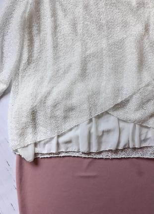 Шикарная  нарядная блузка италия2 фото