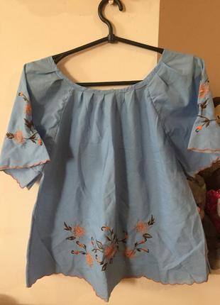 Вышиванка блузка футболка
