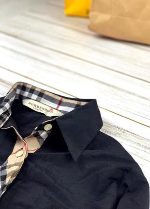 Рубашка женская burberry чёрная