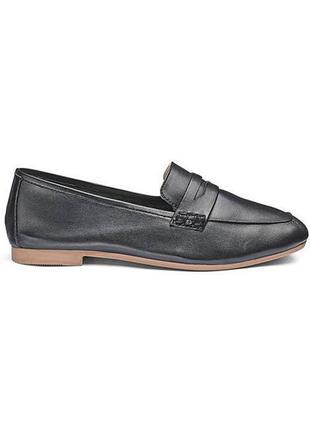 Удобные мягкие кожаные лоферы туфли мягкая пятка3 фото