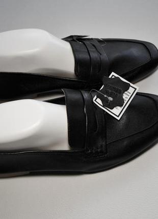 Удобные мягкие кожаные лоферы туфли мягкая пятка4 фото
