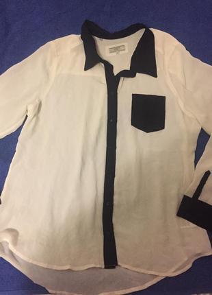 Блузка легкая длинный рукав