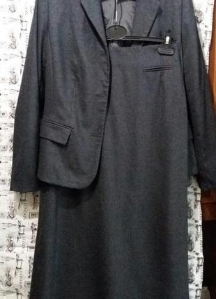 Стильний костюм(піджак+спідниця в пол)бренд franco callegari