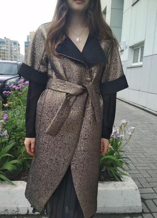 Лёгкое летнее пальто накидка