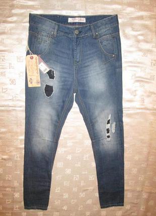 Бойфренды big storm новые джинсы