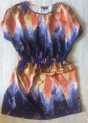 Шелковое платье warehouse