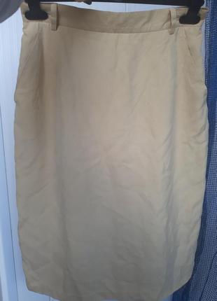Миди юбка шелк от bianca4 фото