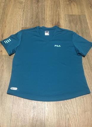 Летняя распродажа!!!! спортивна футболка  футболка fila размер xs