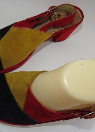 Dorndorf modell шикарные замшевые яркие туфли 37р-ст.23.5 a62 фото