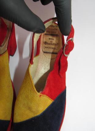 Dorndorf modell шикарные замшевые яркие туфли 37р-ст.23.5 a67 фото
