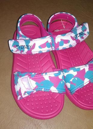 Легкие пляжные босоножки 24-29 р. на девочку