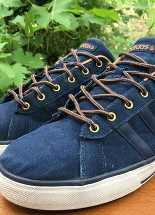Отличные кроссовки,кеды adidas neo label легке р.46 original