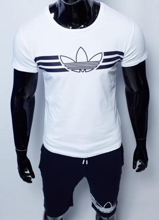 Костюм с шортами мужской adidas 200