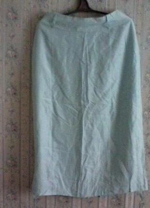 Юбка шелковая в пол, шелк,  разм.46-48
