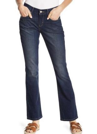 Джинсы буткат 7/8 levis bootcut 515 расклешенные клешные джинсы