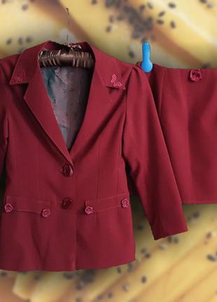 Школьная форма / юбка / пиджак