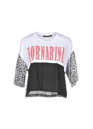 Итальянская футболка fornarina!скидка!