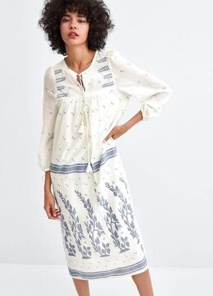 aecfb2bd3a64f85 Хлопковые длинные платья 2019 - купить недорого вещи в интернет ...