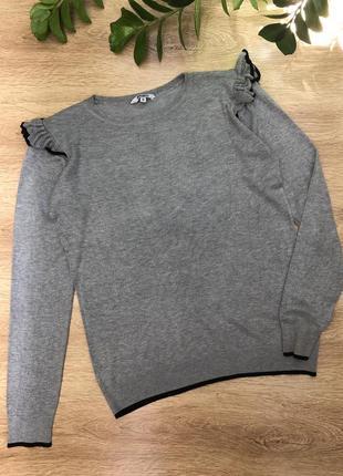 Стильный реглан, свитер xl-xxl