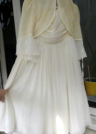 Нарядный комплект платье болеро disney