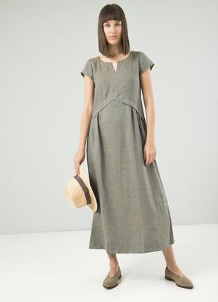 Шикарное платье из льна season