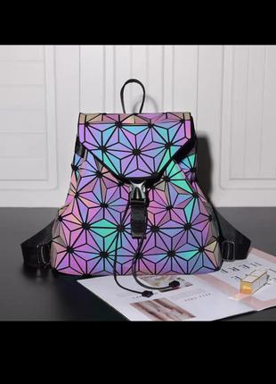 Голографический рюкзак баобао, baobao(bao bao, бао бао)1 фото
