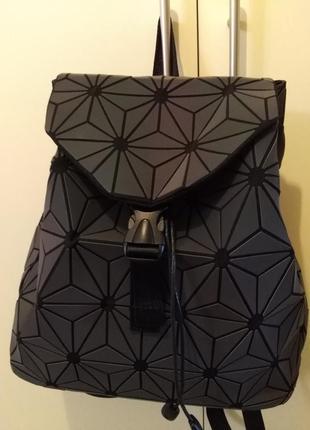Голографический рюкзак баобао, baobao(bao bao, бао бао)2 фото