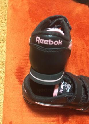 Кожанные оригинальные кроссовки reebok