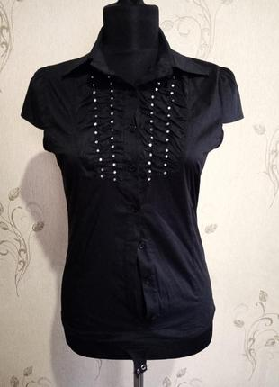 Комбидрес рубашка италия декор стразы