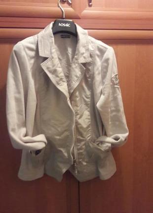 Куртка-косуха с флисовыми рукавами
