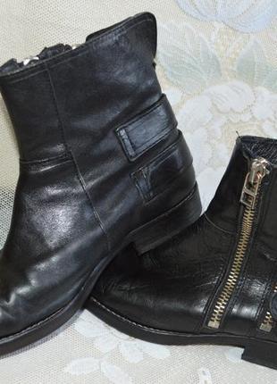Ботинки брендовые.кожа. goosecraft