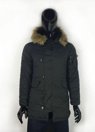 Мужская парка куртка alpha industries parka extreme cold weather type n-3b