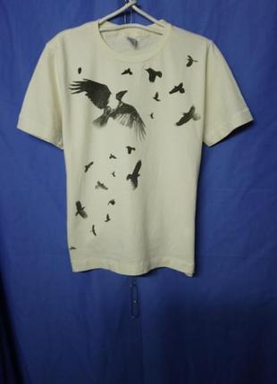 Тонкая катоновая брендовая футболка 🕊️