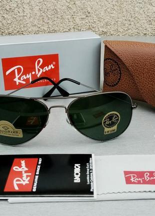 Ray ban aviator large metal diamond hard очки унисекс солнцезащитный стекло