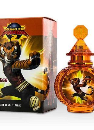 Детская парфюмерная вода kung fu panda 2 tigress, 50 мл