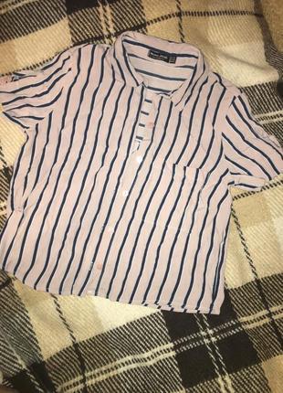 Рубашка укорочена